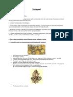 Trasaturile Specifice Lichenilor