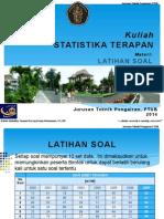 Latihan Soal Statistika Terapan (P. Donny)