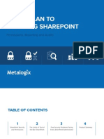 5 Step Plan to Securing SharePoint
