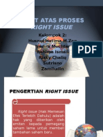 Audit Atas Proses Right Issue