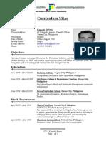 Sample CV Copy