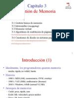 Memoria - Sistemas Operativos