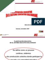 Planificación Educativa 2