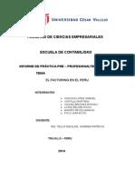 El Factoring en El Peru