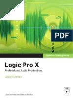 Logic Pro X Handbuch Pdf