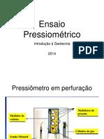 ensaio pressiometrico