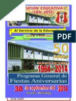 PROGRAMA DE BODAS DE ORO EN TAMAÐO A4- 2014.doc
