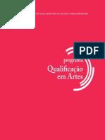 Livreto Qualificacao Em Artes 2015