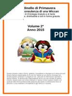 Rondinelle di Primavera Con i due Pinguini pdf di Chirologia Volume 2°