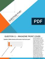 Question Five Coursework
