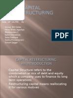 CAPITAL RESTRUCTURING -CHOLAMANDALAM