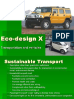 Eco-Design X Transportation