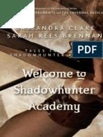 Bienvenido a La Academia de Cazadores de Sombras