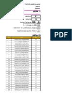 2do. Bimestre - Datos - Calificaciones - Gráficas
