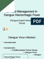 Fluid Management in Dengue Hemorrhagic Fever