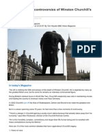 Bbc.com-The 10 Greatest Controversies of Winston Churchills Career