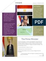 government of egypt newsletter
