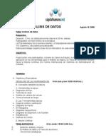 Nuevo Temario 8.4 Analisis de Datos