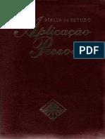 001 - Bíblia de Estudo Do Livro de Genêsis