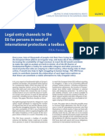 Fra Focus 02 2015 Legal Entry to the Eu