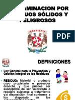 Contaminacion Residuos Solidos y Peligrosos 2014