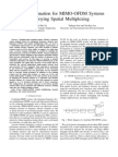 Channel Estimation for MIMO-OfDM Systems Employing Spatial