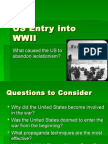 us entry into wwii