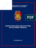 Human Resource and Doctrine Manual Development - Septermber 2014