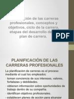 Planificacion de La Carrera Profesional