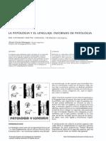 Patología y Lenguaje