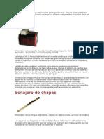 Instrumentos Casero