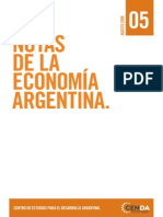 CENDA - Notas Economia Argentina N-¦º5