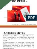 Tratado Perú - China Completo