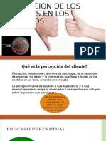 Percepcion de Los Clientes en Los Servicios-Vilcapoma Beraun