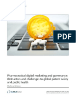 Pharmaceutical digital marketing and governance