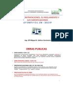 Ley Contrataciones M.salinas