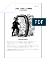 wfrp Adventure First Impressions