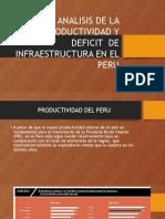 Analisis de La Productividad y Deficit de Infraestructura