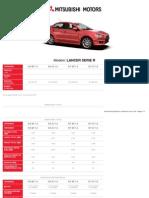 Mitsubishi Motors Ficha Tecnica 1