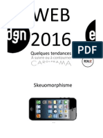 Tendances WEB  2015 2016