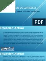 Análisis de Variables Mediante MICMAC