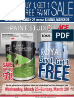 Seright's Ace Hardware Buy 1, Get 1 Free Paint Sale