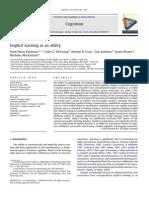 Kaufman 2010 Implicit Learning Cognition