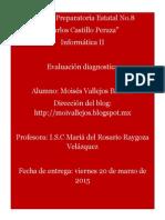 evaluacion diagnostica muvb