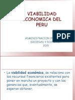 viabilidad economica del peru