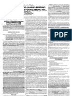 11-21-2008 Philippine Daily Inquirer - LAND FOR THE LANDLESS Acquisition under TORRENS SYSTEM Real Property Act 1858