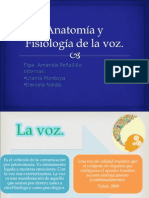 Anatomía y Fisiología de La Voz