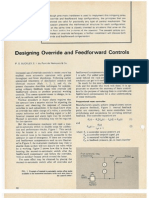 Designing Override and Feedforward Controls