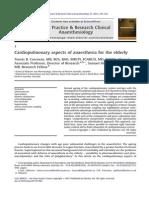 Perioperative Cardiopulmonary Elderly