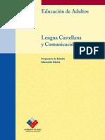 Programa de Estudio Lenguaje y Comunicación